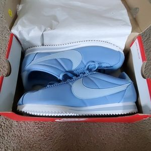 Women's Blue Nike Cortez Sneakers